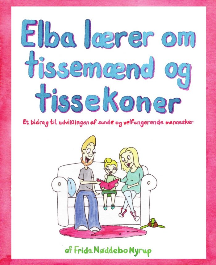 Forsiden af børnebogen